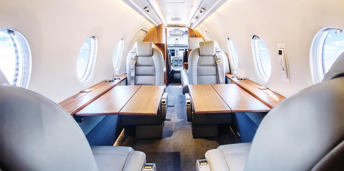 Nextant XTi Mid Range Private Jet Charter